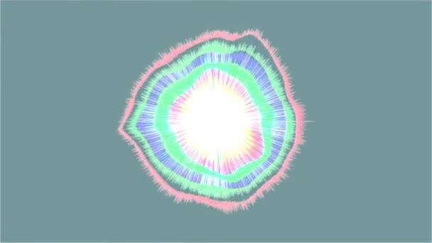 Abstraktní barevné pozadí 7