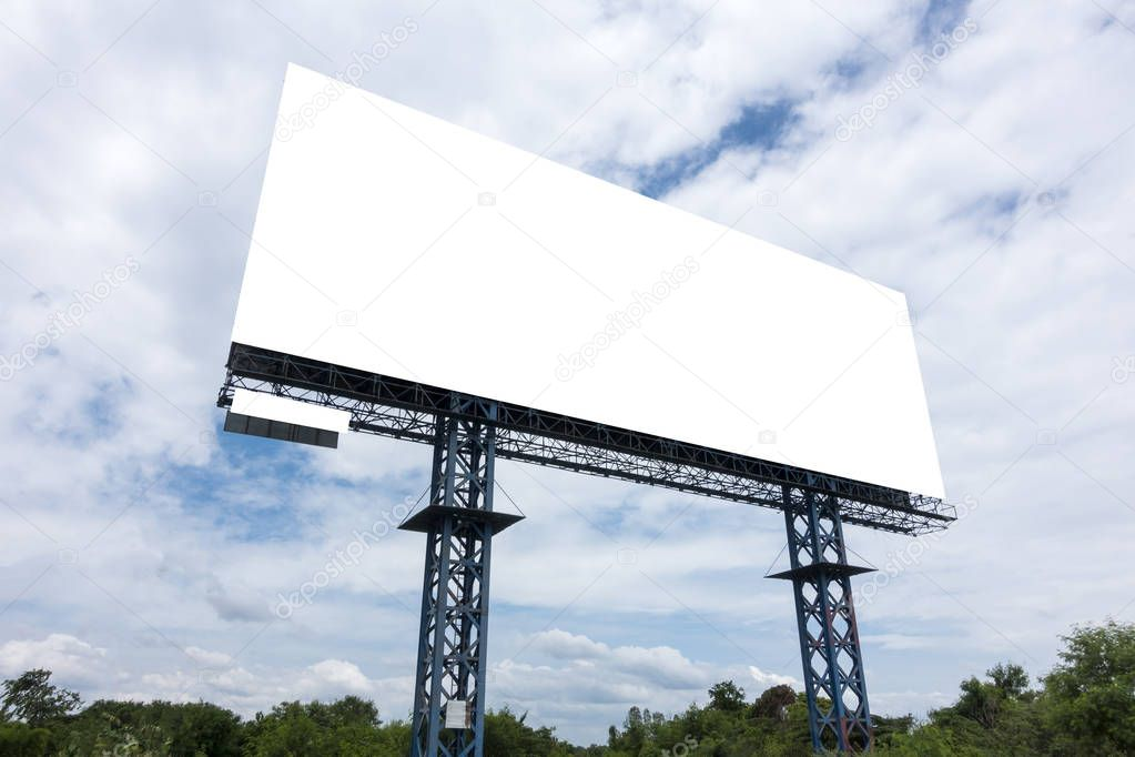 Billboards space sky outdoors