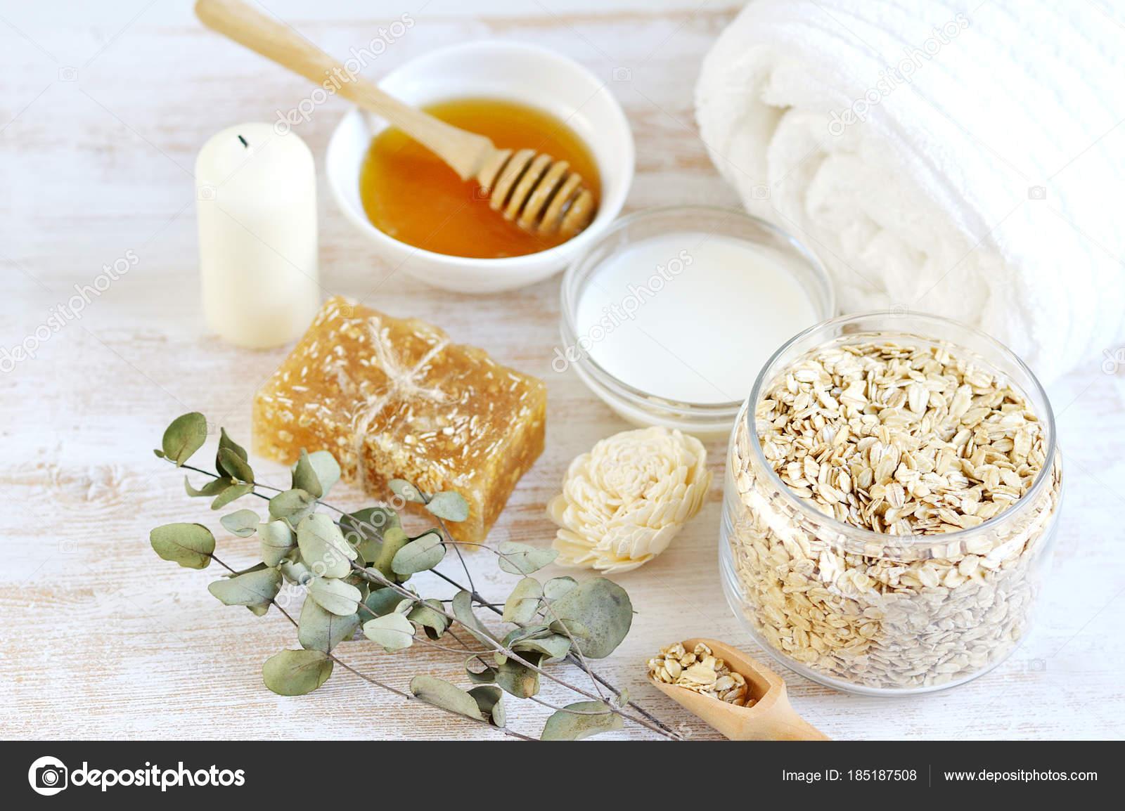 Exfoliante casero para el cuerpo con miel