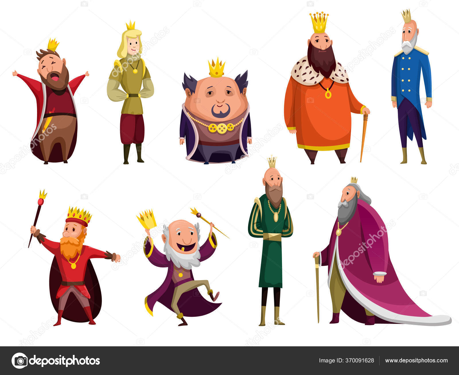 Áˆ Crown Stock Animated Royalty Free Cartoon Person Wearing Crown Vectors Download On Depositphotos Cartoon king wearing crown and mantle. https depositphotos com 370091628 stock illustration set of cartoon kings wearing html