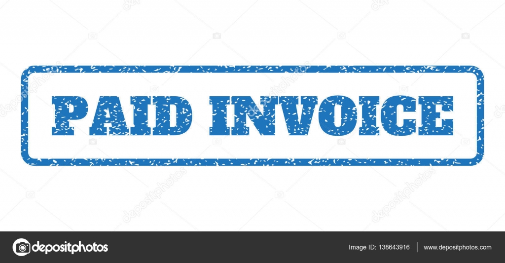 Paid Invoice Rubber Stamp Stock Vector Tatyanasibcodecom - Invoice stamp