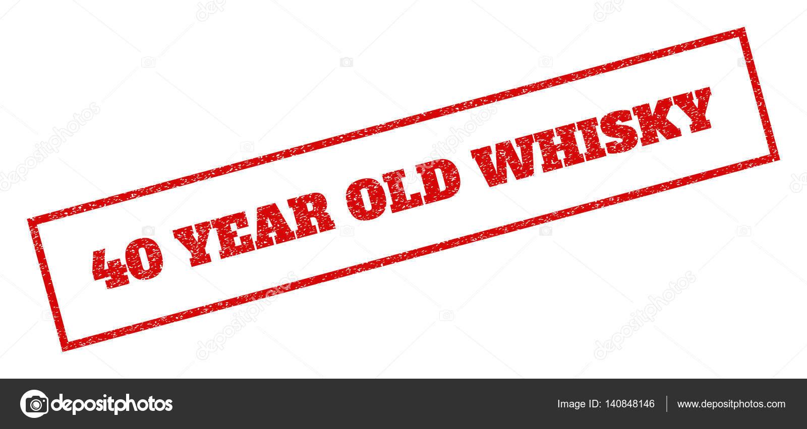 40 jaar oude whisky 40 jaar oude Whisky Rubberstempel — Stockvector © tatyana.sibcode  40 jaar oude whisky