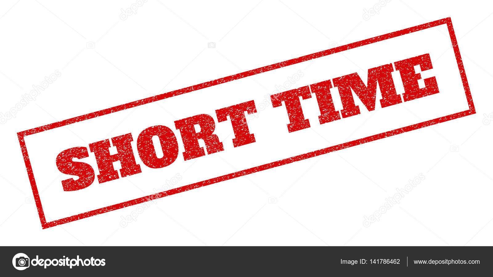 Sello de goma de corto plazo — Vector de stock © tatyana.sibcode.com ...