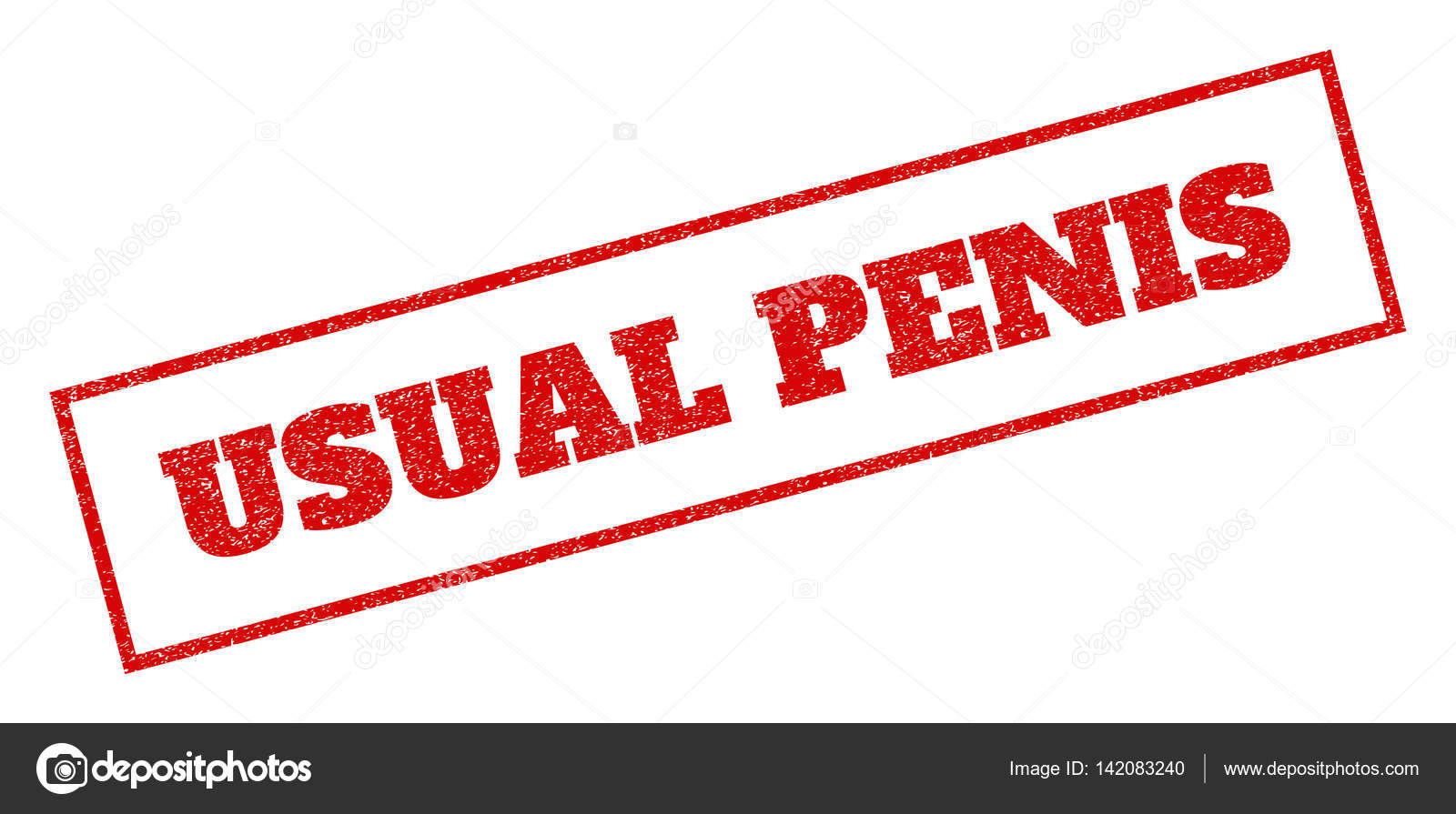 usual penis