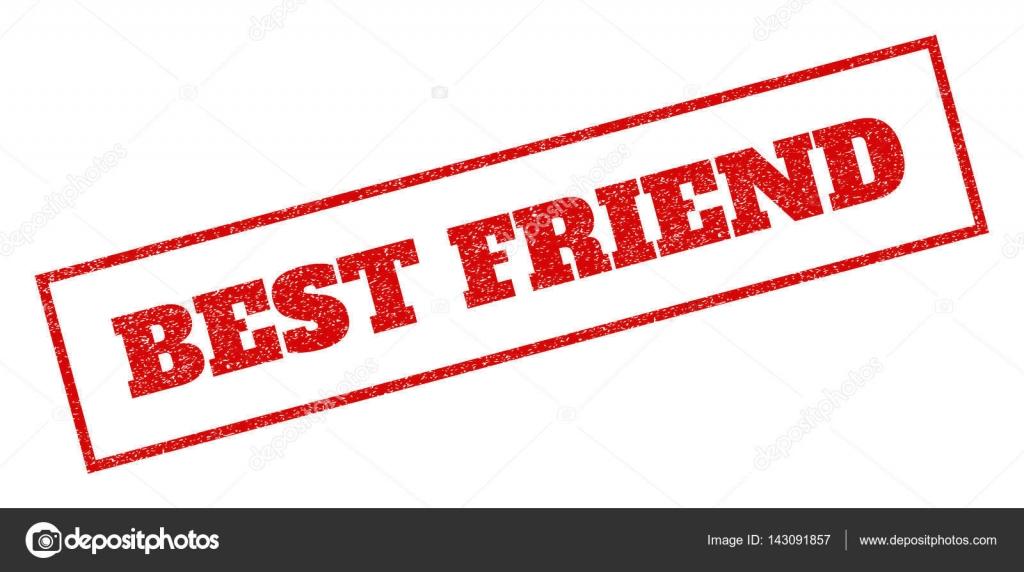 Bester Freund-Stempel — Stockvektor © tatyana.sibcode.com #143091857