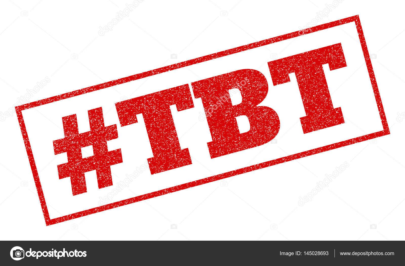 Hashtag Tbt Rubber Stamp \u2014 Stock Vector © tatyana.sibcode.com #145028693
