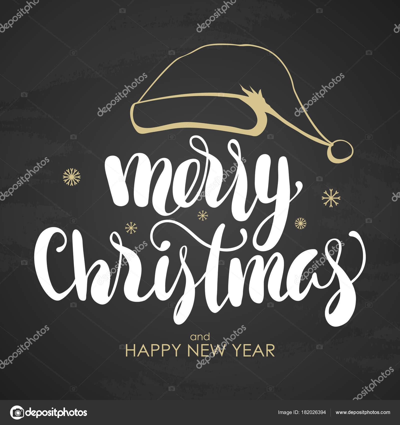 Immagini Con Scritte Di Buon Natale.Lettere Scritte A Mano Di Buon Natale E Felice Anno Nuovo