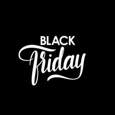 Vector hand lettering of Black Friday