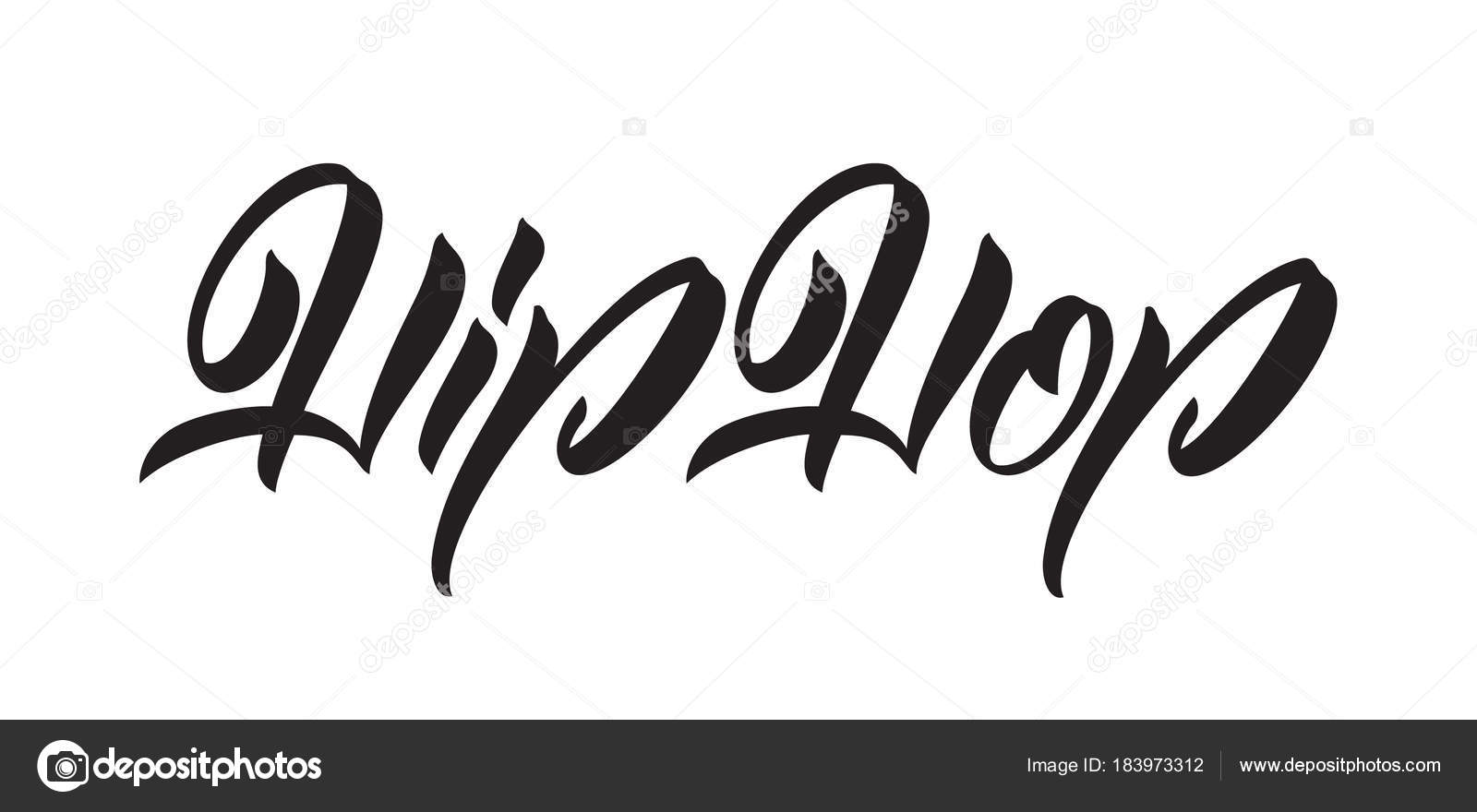 vektor illustration handschriftliche kalligraphische typ. Black Bedroom Furniture Sets. Home Design Ideas