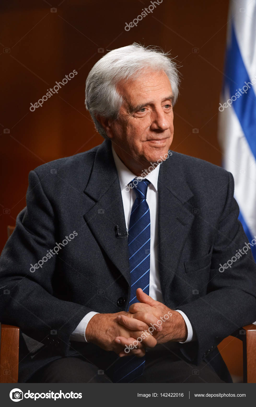 MOSCOW,RUSSIA/FEBRUARY 15,2017: President of Uruguay Tabare