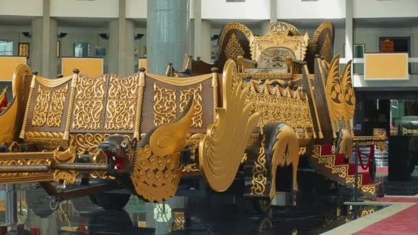 Bandar Seri Begawan, Brunei Darussalam - April 10, 2017: Museum of the Royal Regalia
