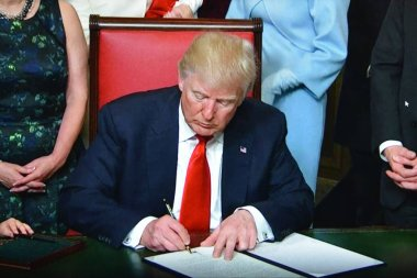 President Trump Signs Orders