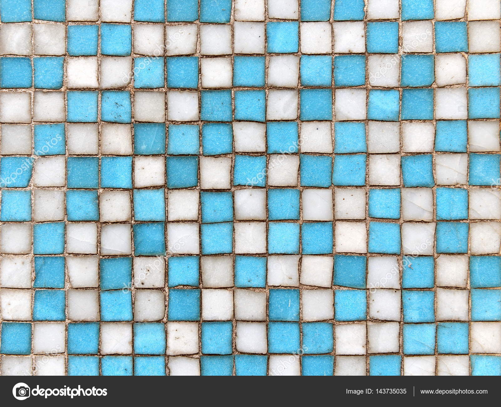 Weathered Square Ceramic Tiles — Stock Photo © 1000Words #143735035