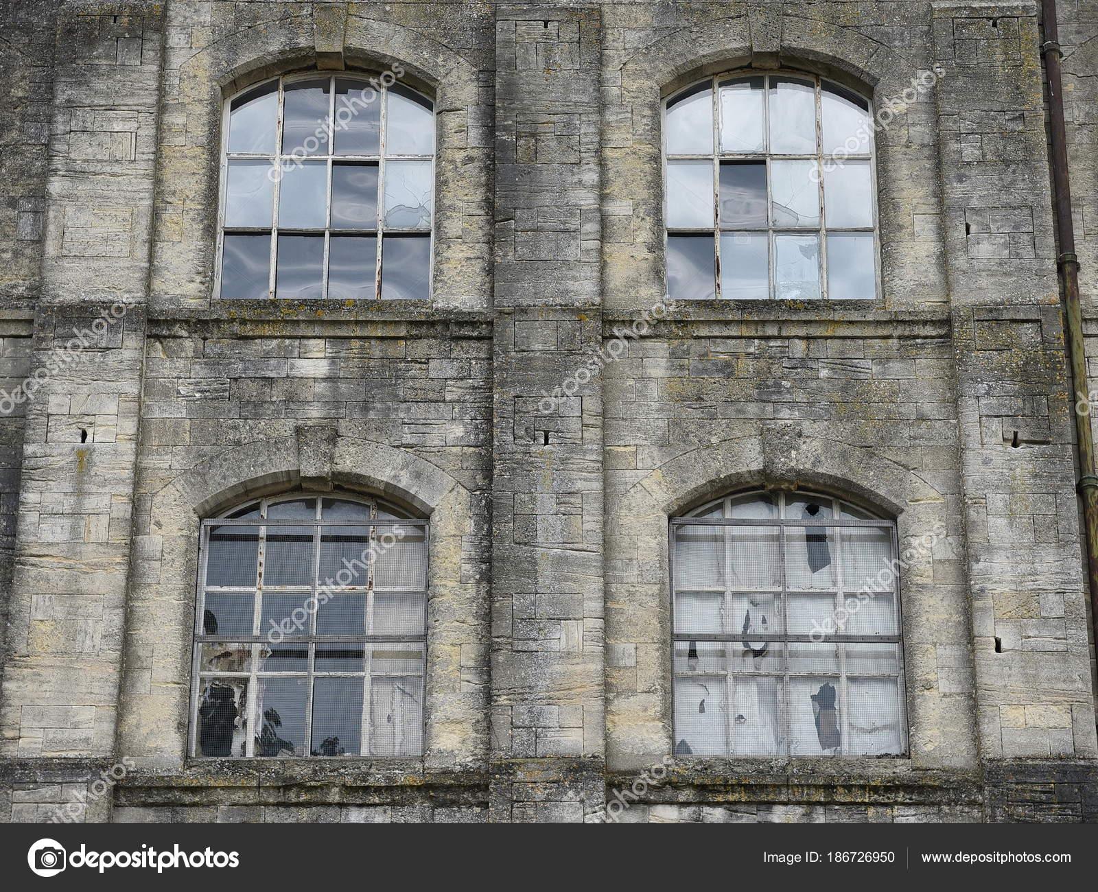 Surprising Abandoned House Exterior Broken Windows Stock Photo Download Free Architecture Designs Itiscsunscenecom