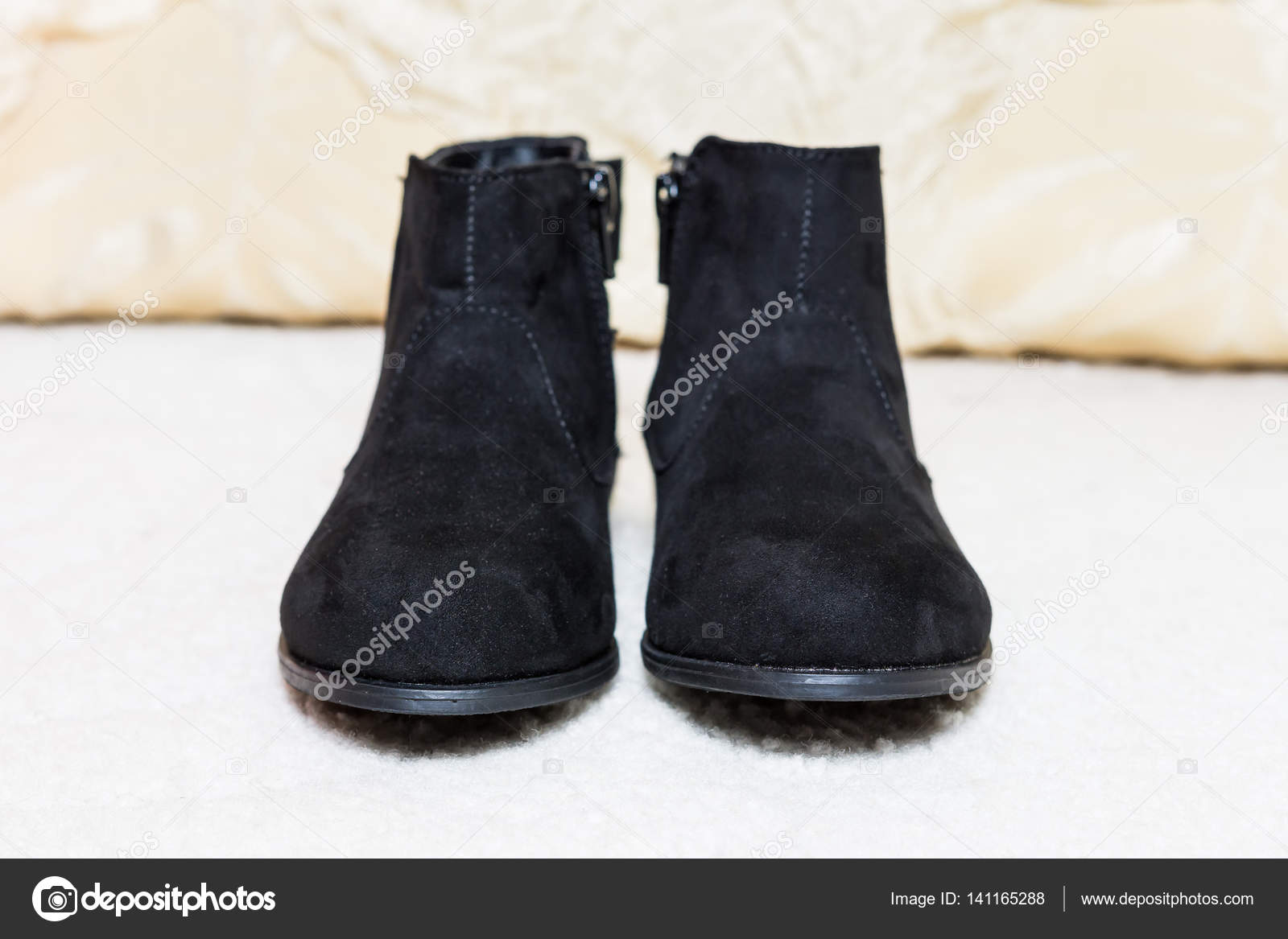 d9c974dada2 Νέα Sparkly βελούδινο μαύρο ζεστό μπότες για τα παιδιά για το φθινόπωρο- χειμώνα με φιόγκο