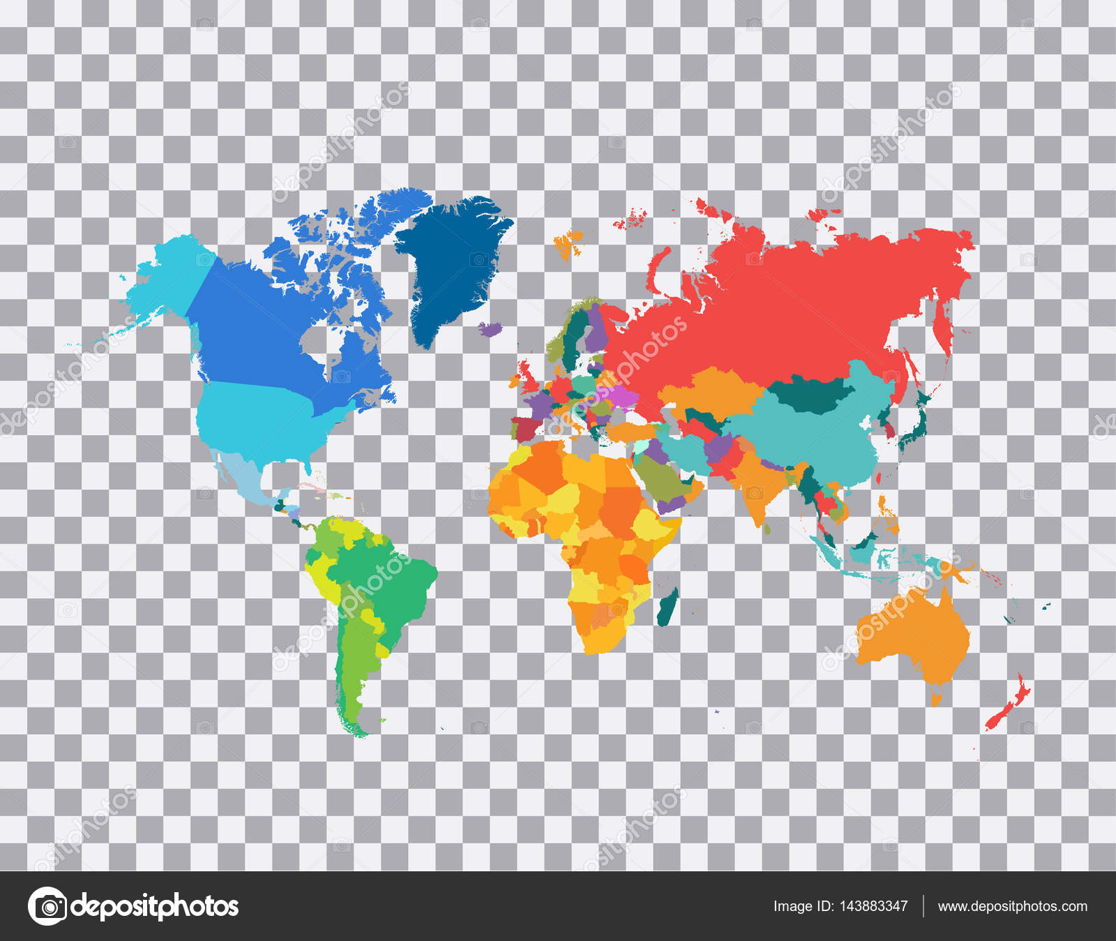 Political world map vector illustration stock vector sergii19i political world map vector illustration stock vector gumiabroncs Images