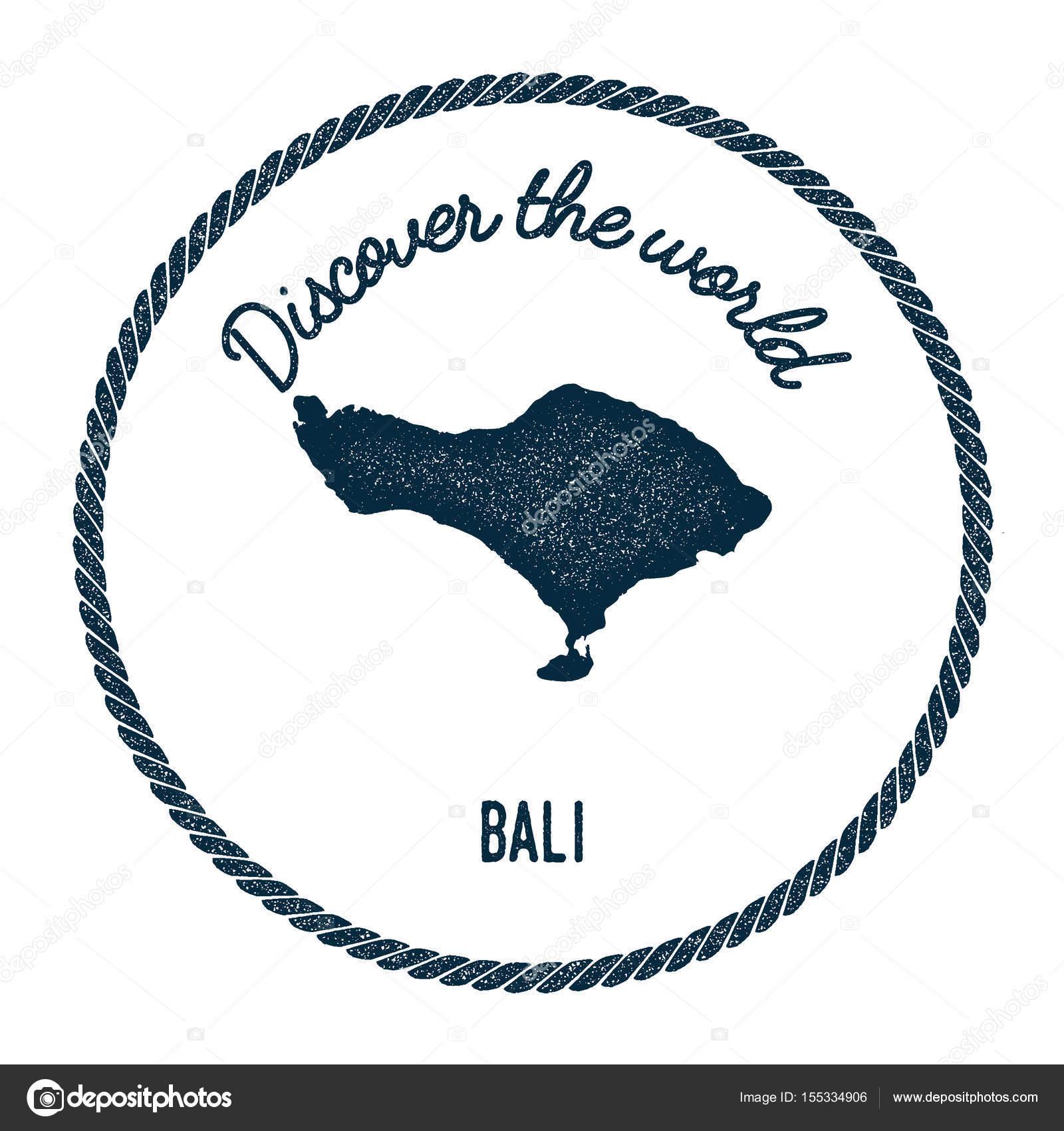 Carte Bali Dans Le Monde.Carte De Bali Dans Le Vintage Decouvrez Le Monde Insignes