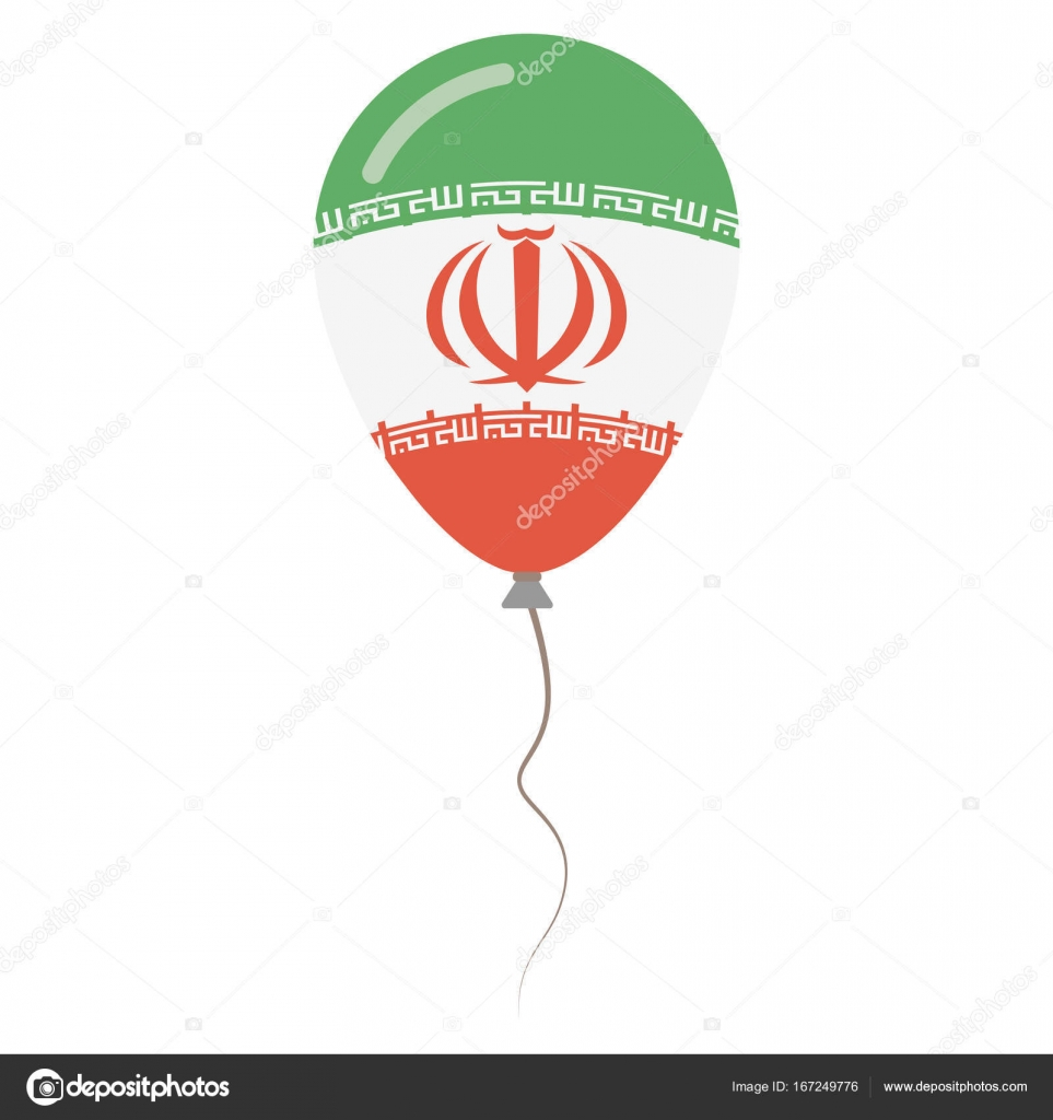 Islamic republic of iran national colors isolated balloon on white islamic republic of iran national colors isolated balloon on white background independence day stock vector buycottarizona Choice Image