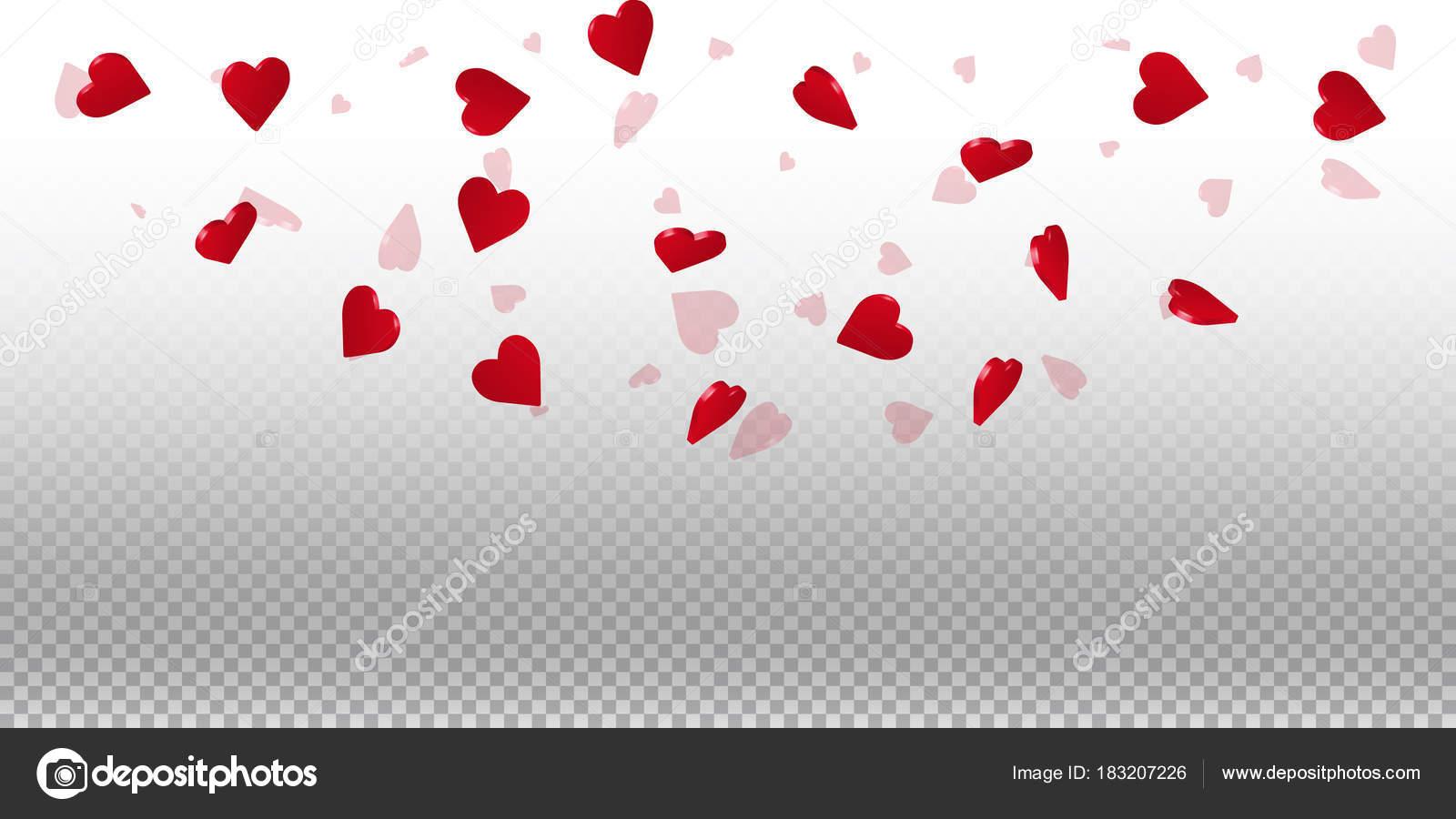 透過的なグリッド明るい背景の 3 d 心の 3 d 心バレンタインの背景上半円