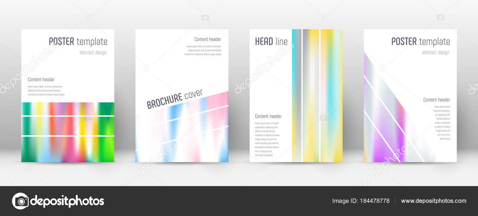 Flyer diseño geométrico maravillosa plantilla folleto anual Informe ...