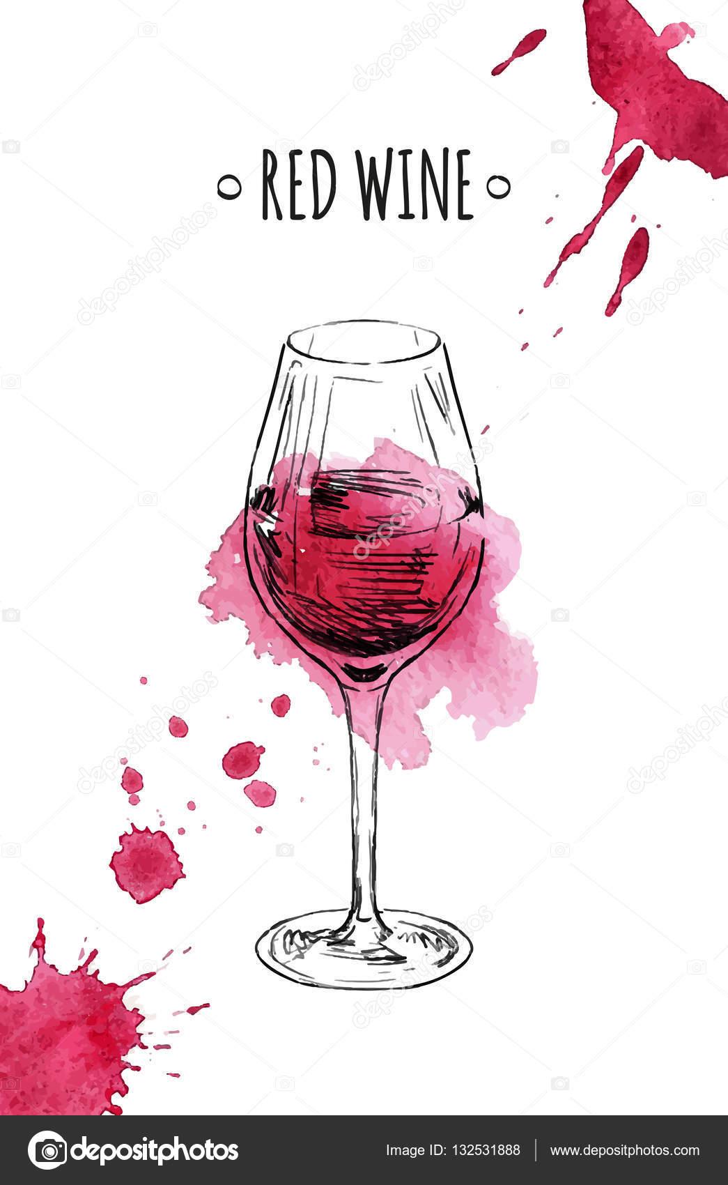 copa de vino tinto vector de stock 132531888. Black Bedroom Furniture Sets. Home Design Ideas