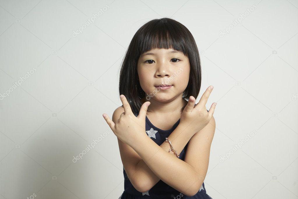 girls asian Cute young