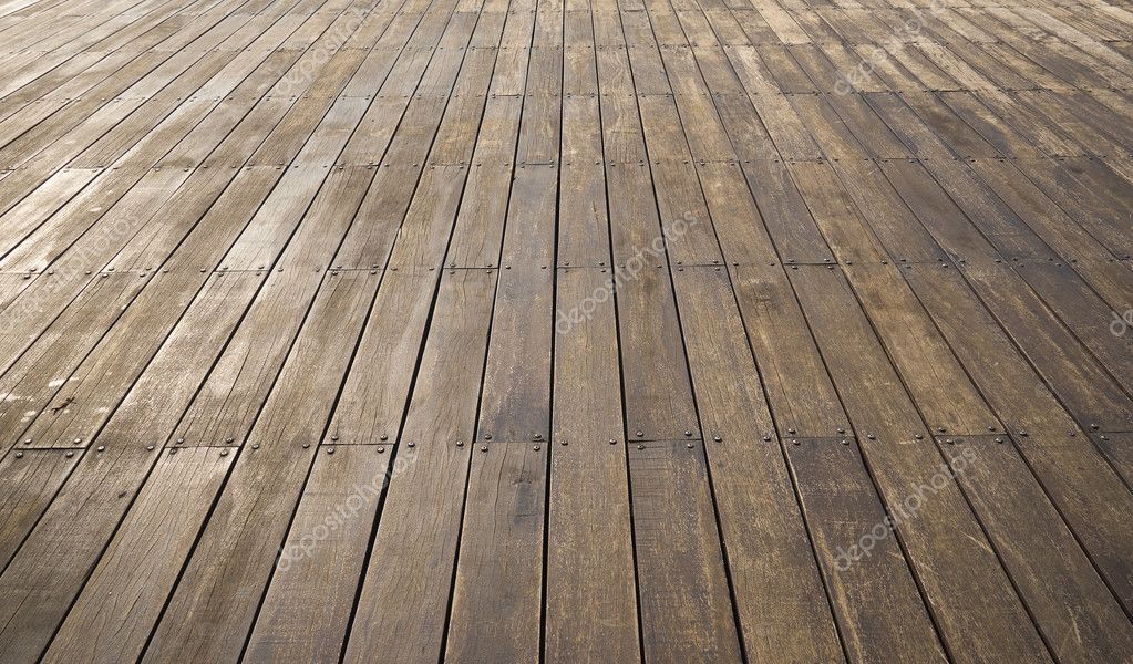 Houten planken vloer u stockfoto jamesteohart
