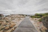 Fotografie Fußweg zur Gap-Steinbildung