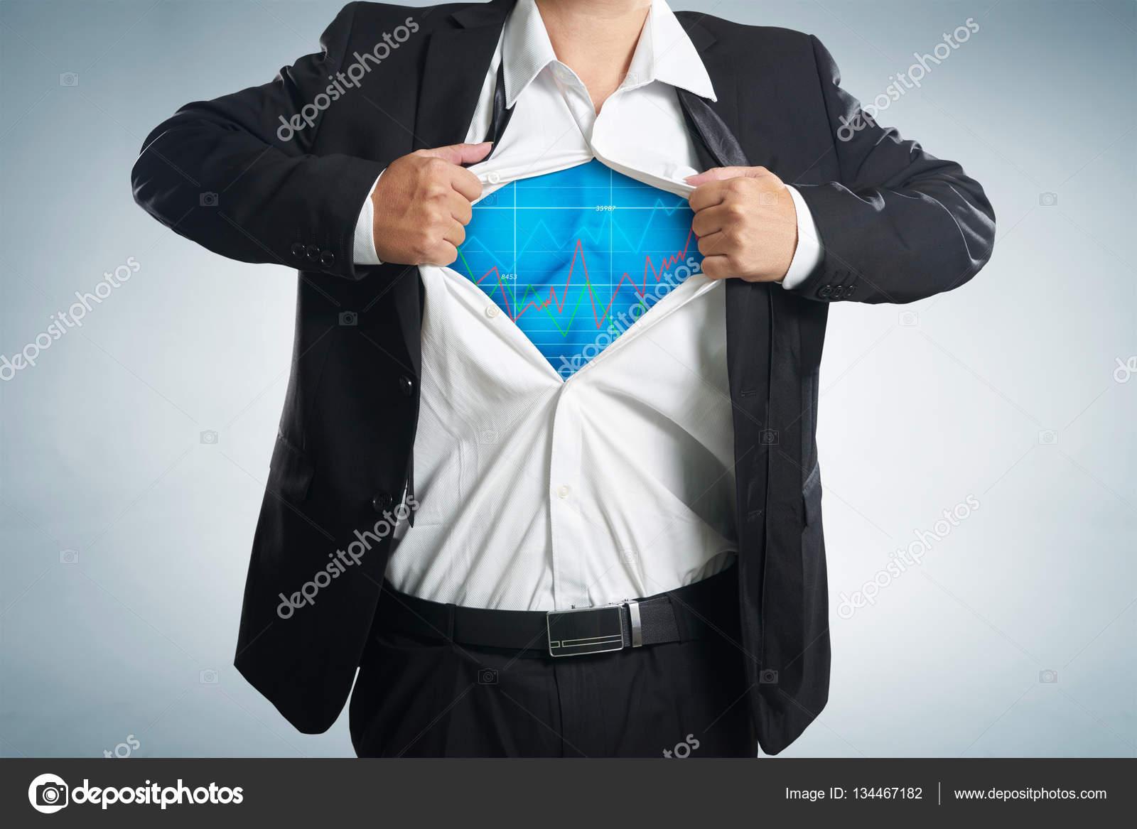 Overhemd Voor Onder Pak.Superheld Kostuum Onder Pak Stockfoto C Jamesteohart 134467182