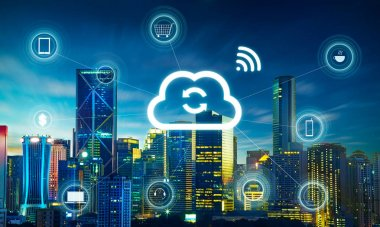 Smart city and cloud computing
