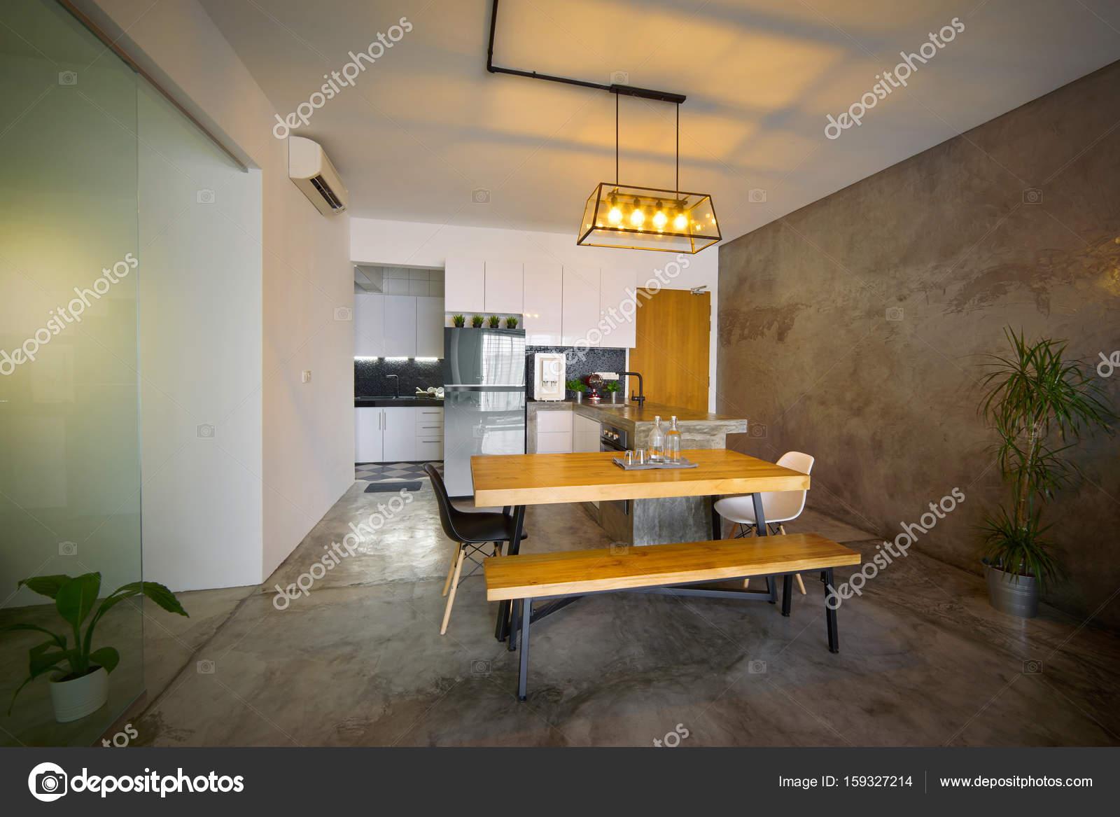 moderne Küche Interieur — Stockfoto © jamesteohart #159327214