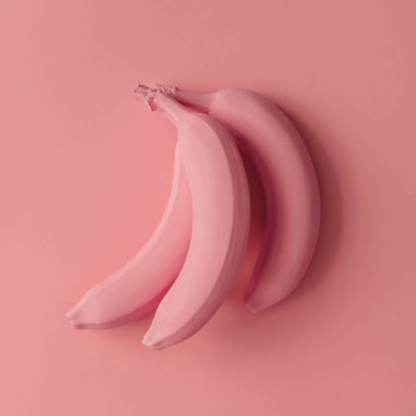 raw Pink bananas