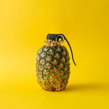 Pineapple hand grenade bomb