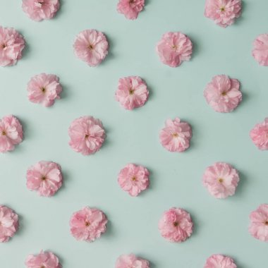 beautiful pink flower pattern