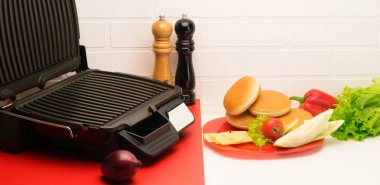 pure electric grill for toasting sandwiches