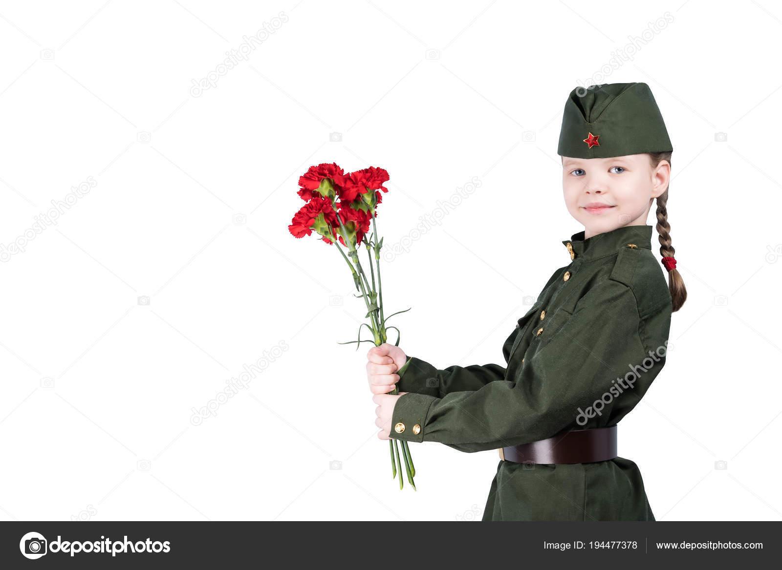 Фото девушек в форме цветов 90