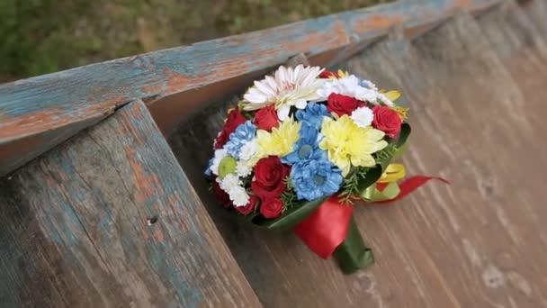 krásná kytice divokých květů