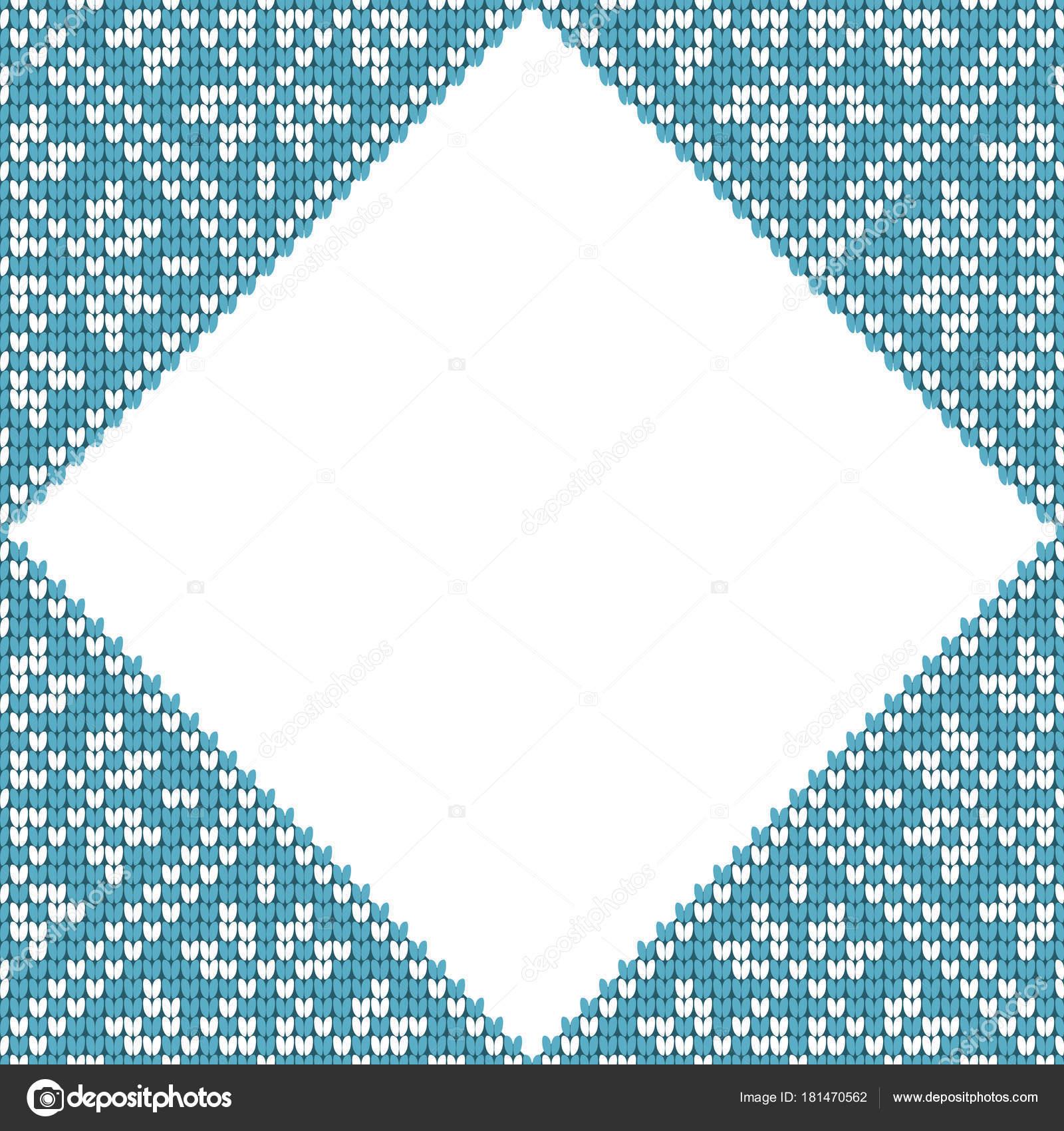 Patrón tradicional escandinavo. Nordic azul y blanco punto etnico ...