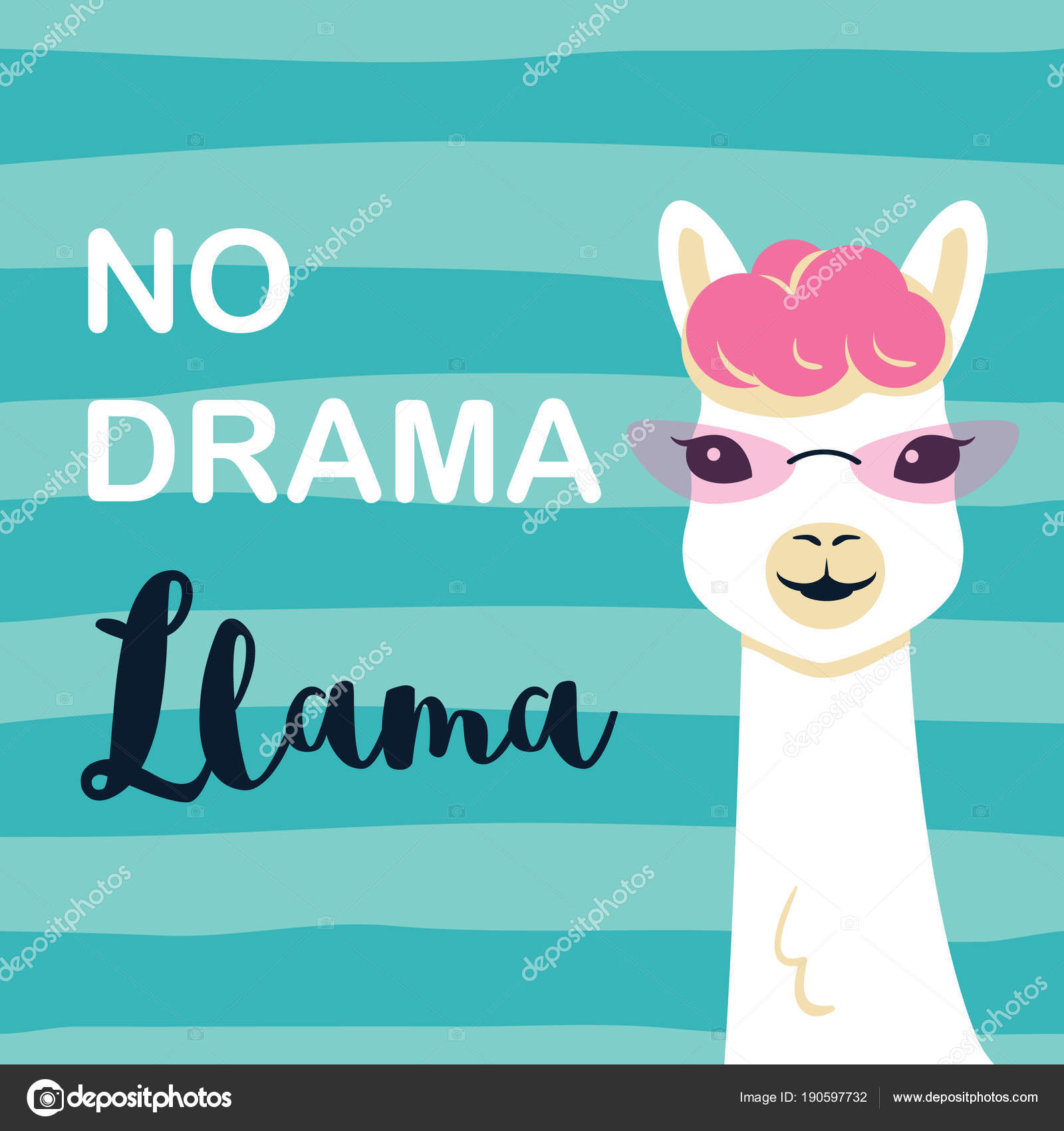 Images: cartoon motivational quotes | Cute cartoon llama ...