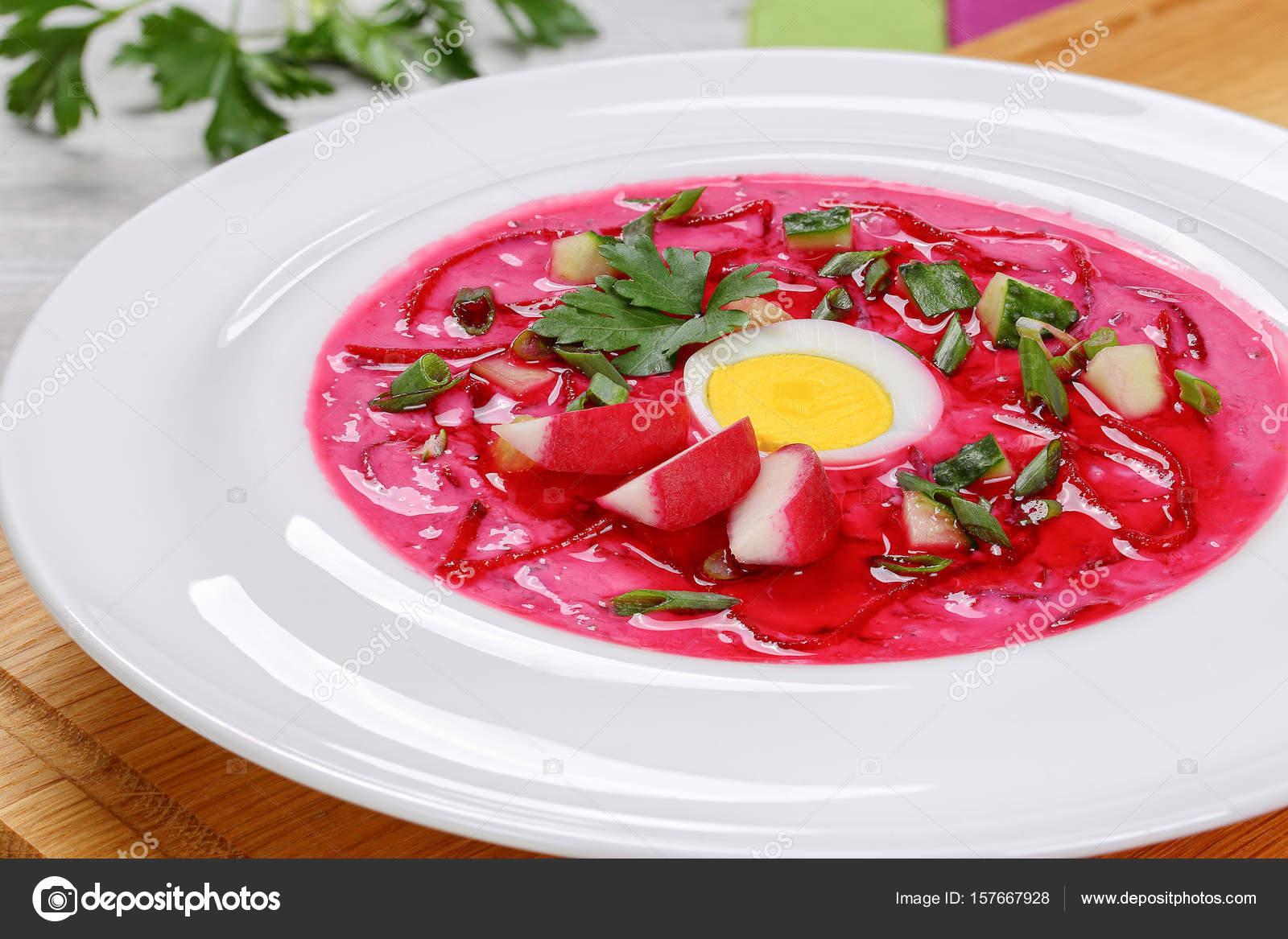 Soğuk pancar çorbası tarifi