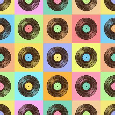Vinyl color pattern