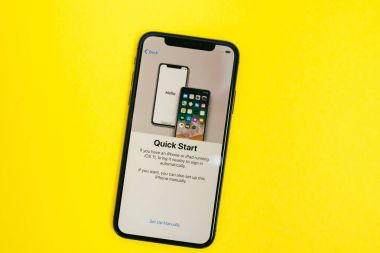 New Apple Iphone X flagship smartphone