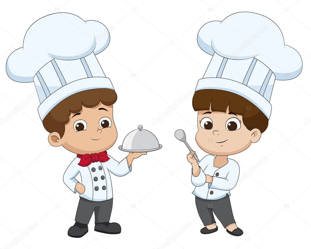 Imágenes: Niños Cocineros Animados