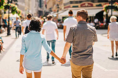 Budapeşte'mutlu çift