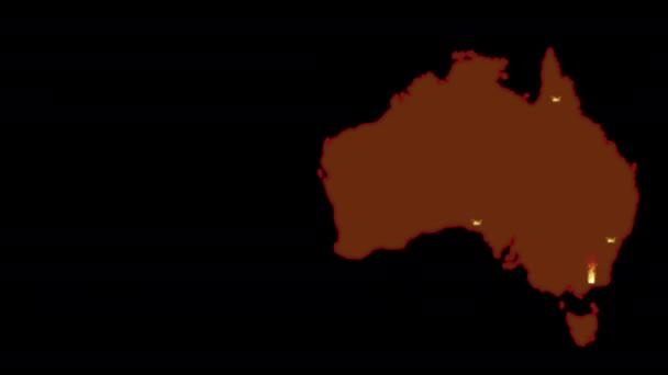 Epidemic coronavirus in China. Animation video