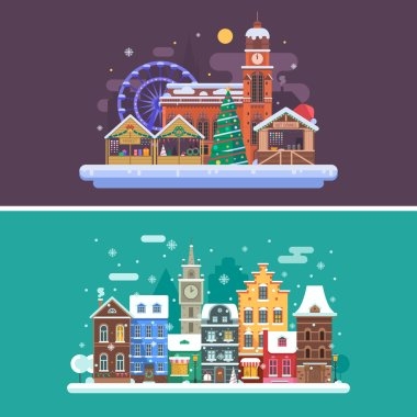 Winter City and Christmas Market