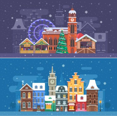 Snow City and Winter Festival Banners