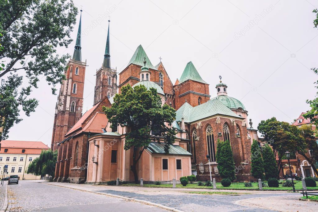 St. John the Baptist Cathedral in Wroclaw