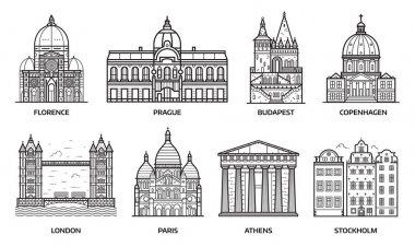Travel Europe Monuments and Landmarks