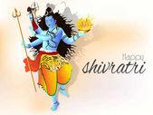 Shivratri Abstract or Maha Shivratri Poster